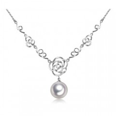 18k South Sea Pearl with Diamonds