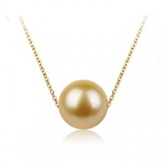 18k Yellow South Sea Pearl
