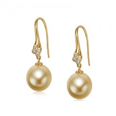 18k South Sea Pearls and Diamonds