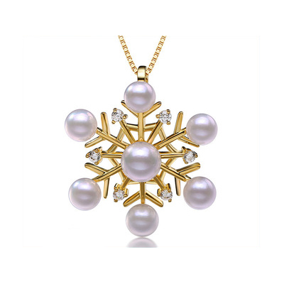 Vanitto Tahitian pearls with diamonds
